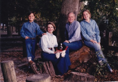 pearce family, 1992; photo by chris pearce