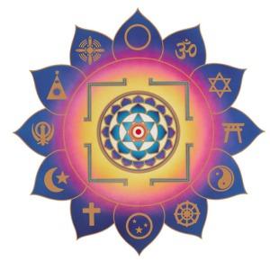 yantra (essentially, the visual representation) of the teachings of sri swami satchidananda