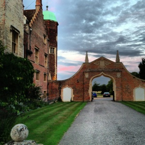 sunset at Madingley Hall; photo by salem pearce (via instagram